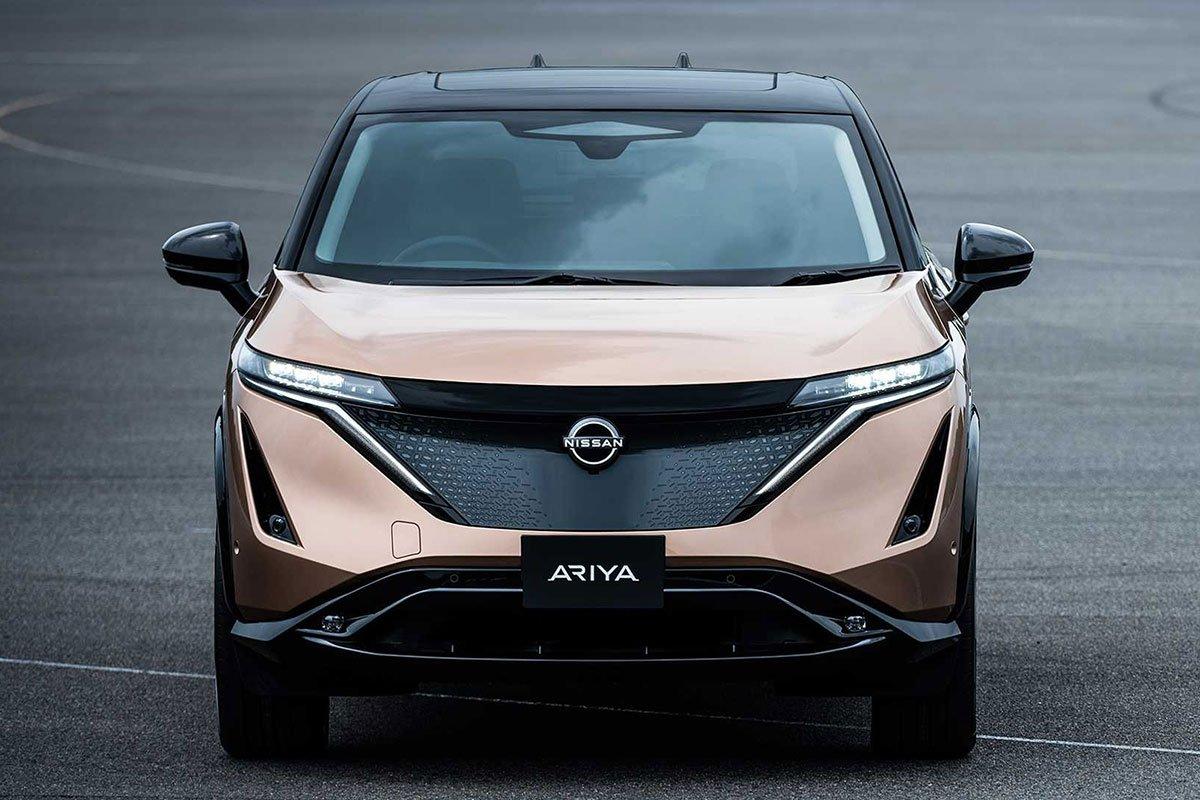 Ảnh Đầu xe Nissan Ariya 2021
