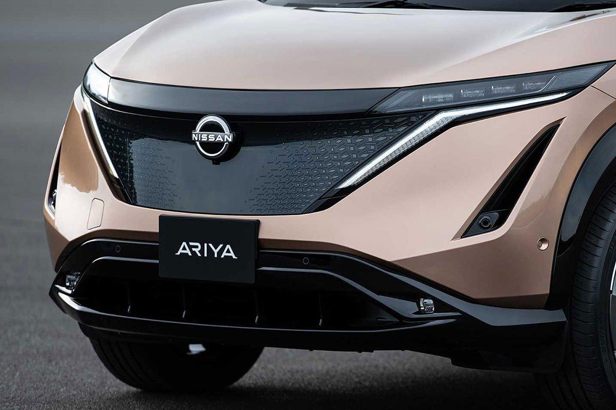 Ảnh Lưới tản nhiệt xe Nissan Ariya 2021