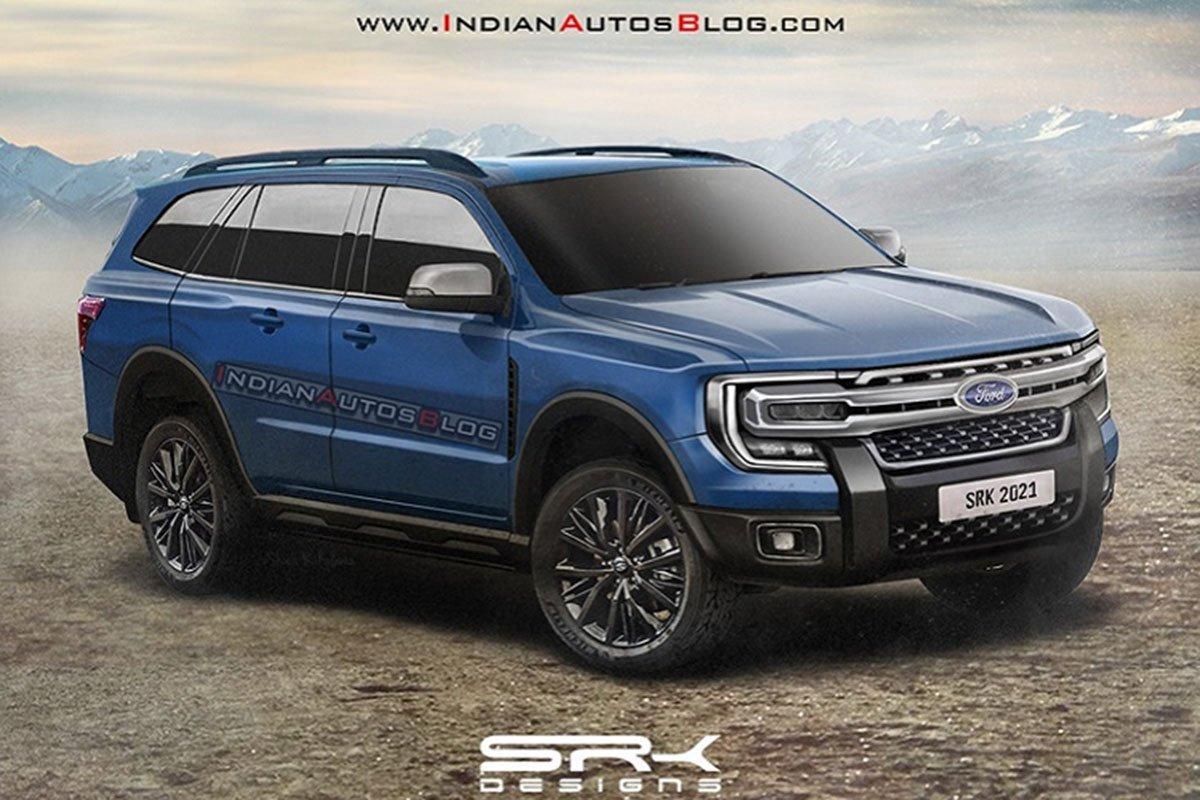 Đây có thể là nội thất 'sang, xịn, mịn' của Ford Everest 2022