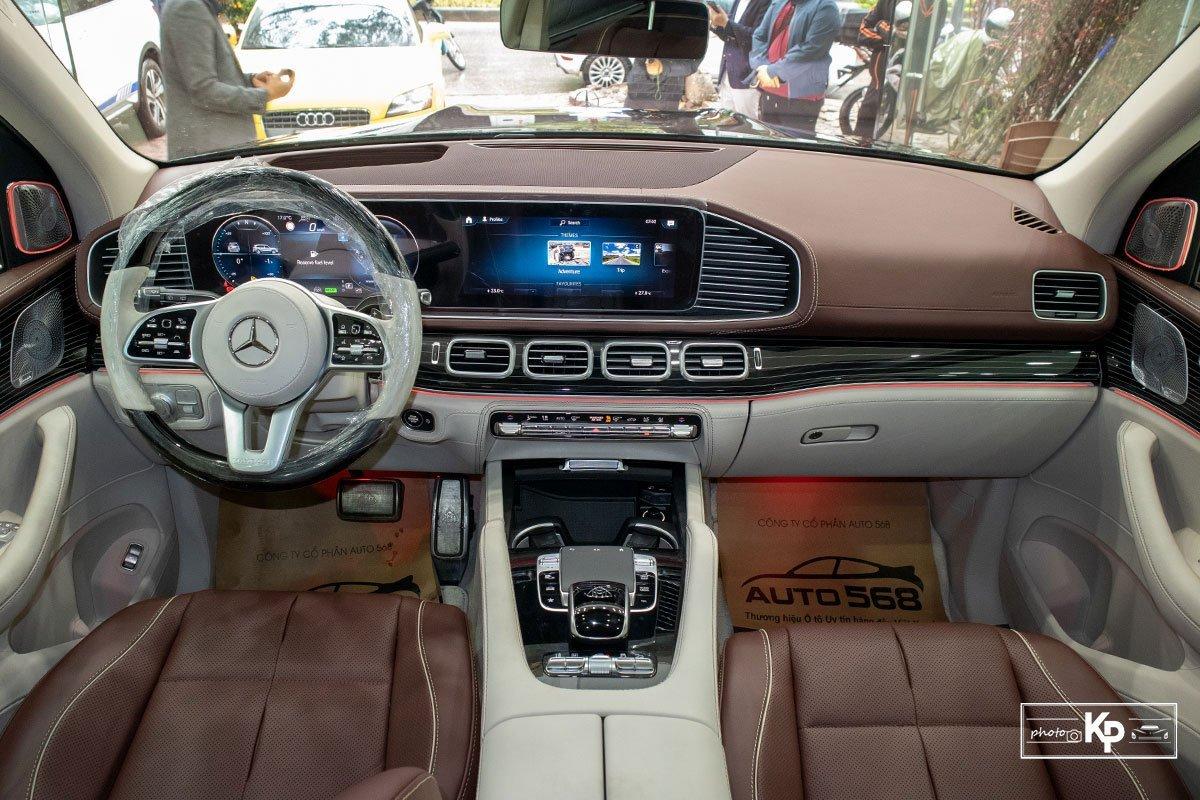 nội thất Mercedes-Maybach GLS 600.