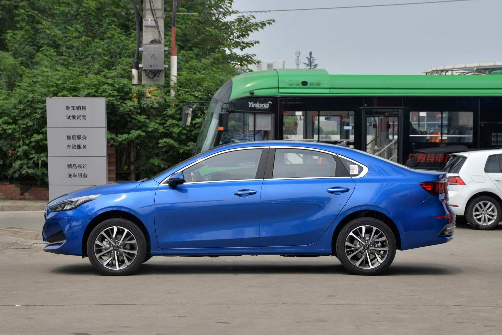 Kia Cerato 2021 EV đúng chuẩn xanh sạch đẹp.