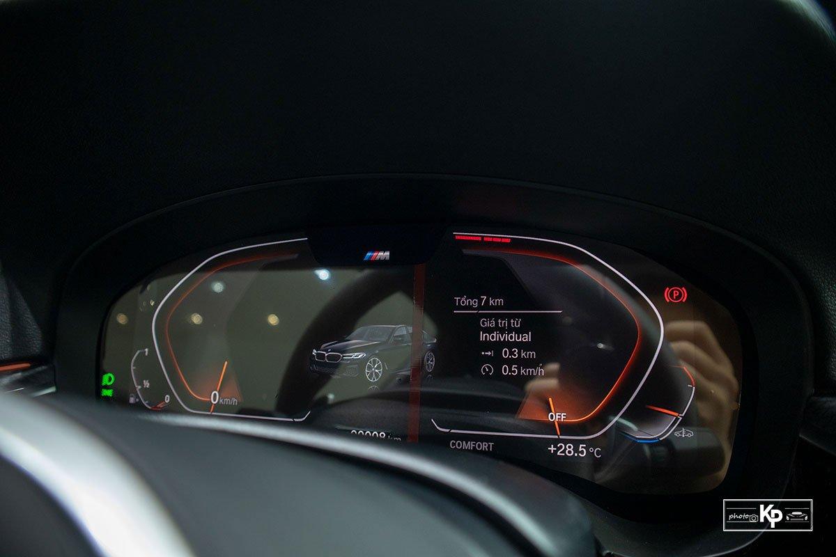 Ảnh thực tế BMW 530i M-Sport 2021 tại đại lý Việt Nam, giá gần 3,3 tỷ đồng a19