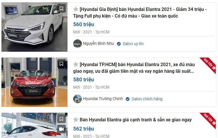 nhiều đại lý áp dụng mức giảm từ 20 - 40 triệu đồng cho khách mua Hyundai Elantra 1