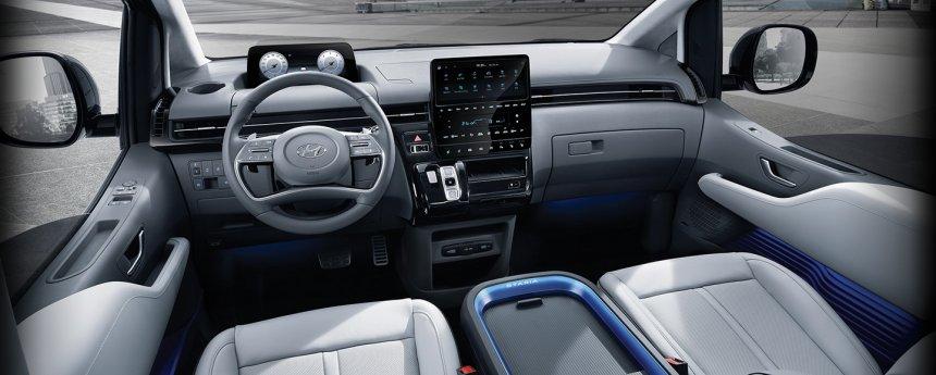 Hyundai Staria 2021 đời mới cực kỳ hiện đại.