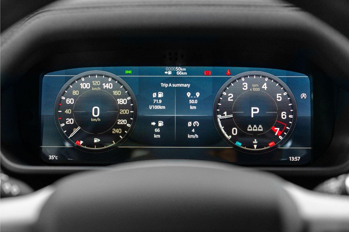 Công nghệ vượt địa hình đặc trưng của Land Rover trên Defender.