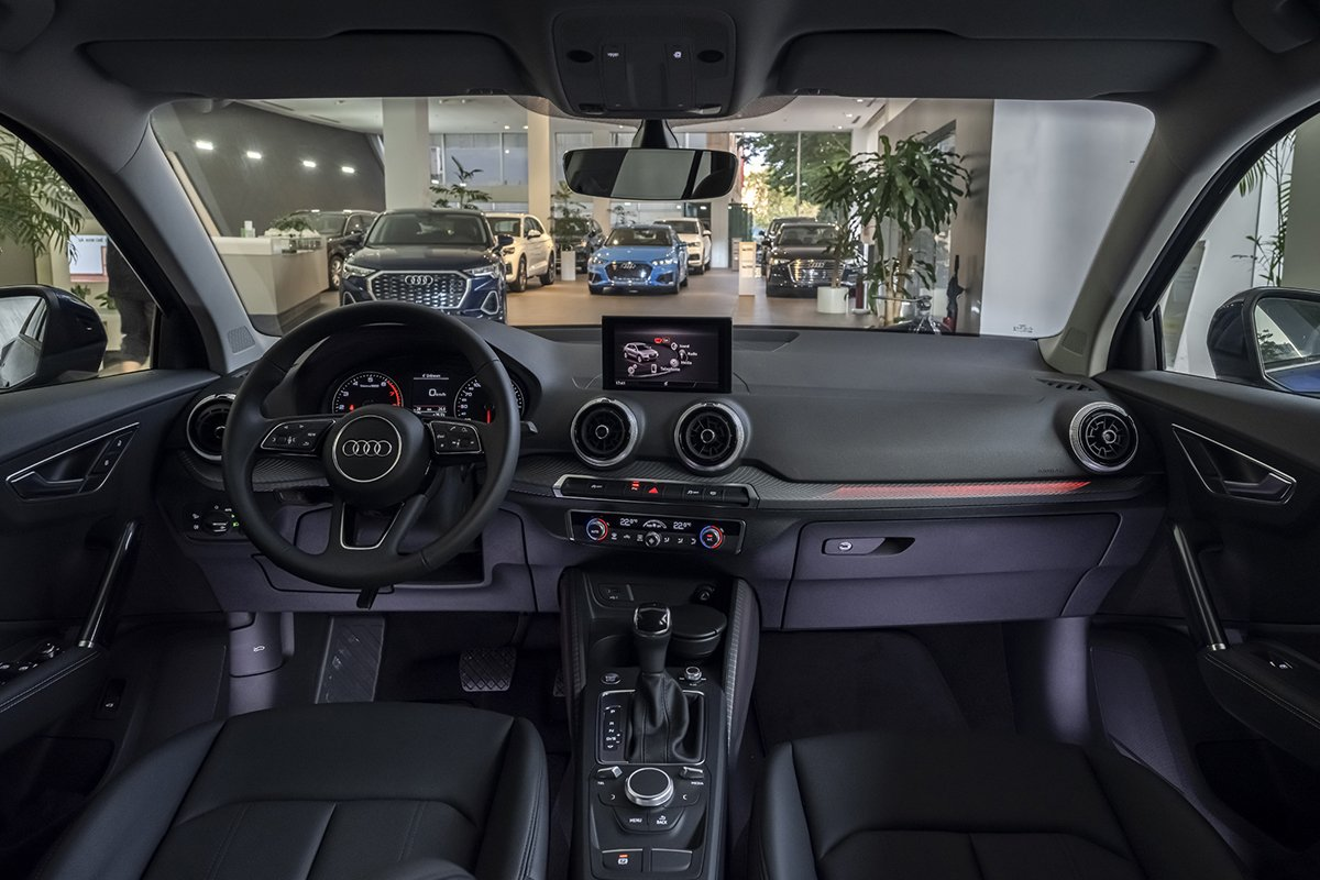 Nội thất xe Audi Q2 2021.