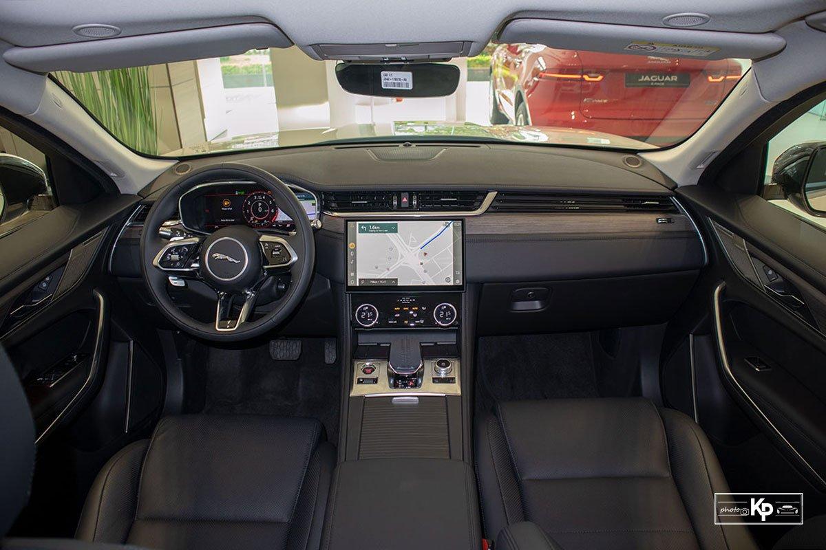 nội thất Jaguar F-Pace.