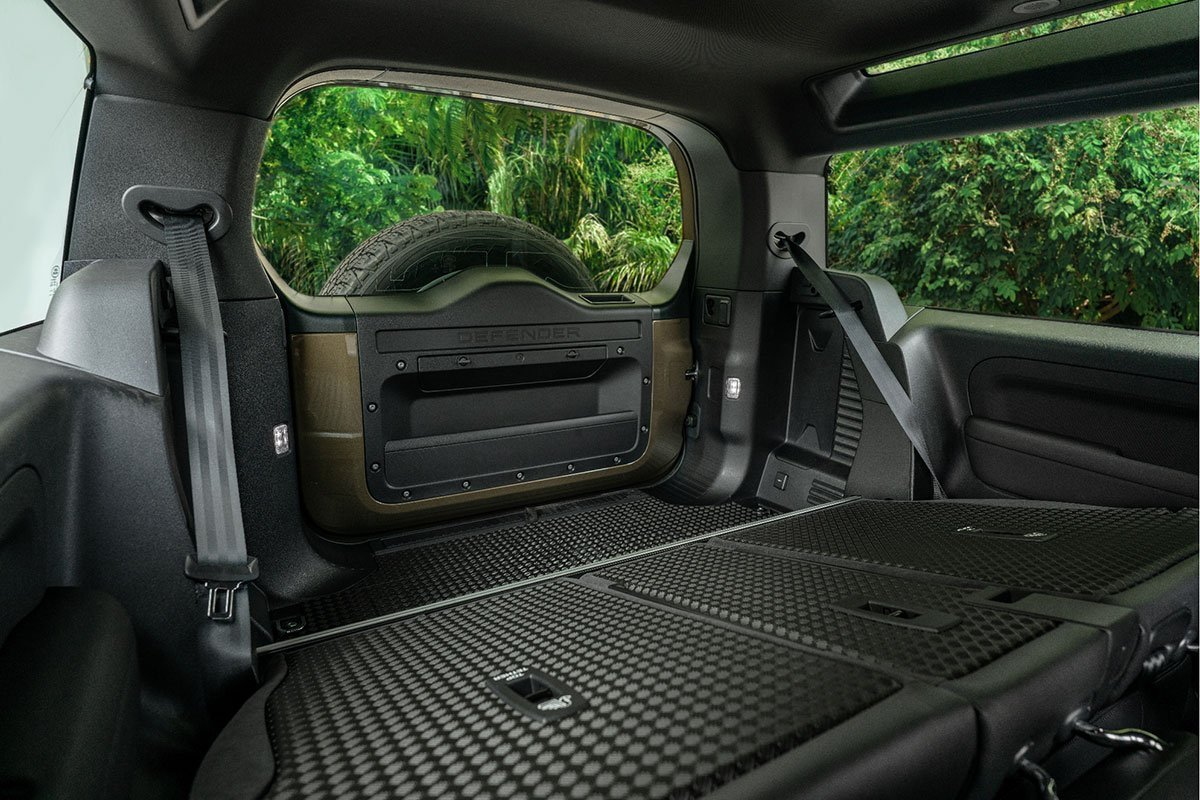 Nội thất Land Rover Defender 2021.1.