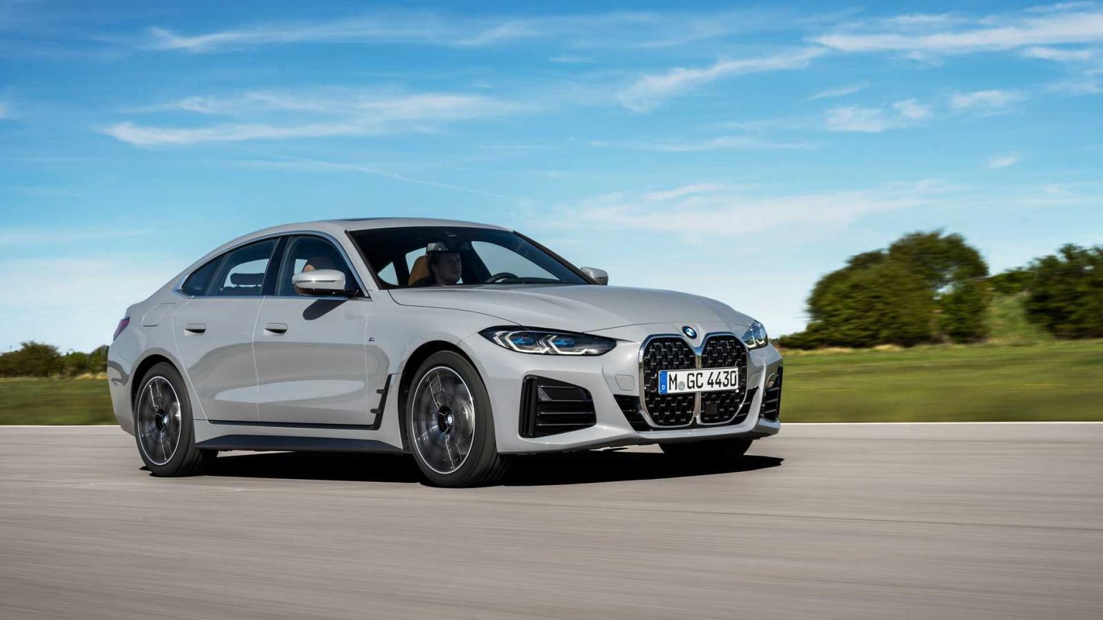 BMW 4-Series Gran Coupe 2022 đẹp mắt và đa dụng hơn được vén màn.