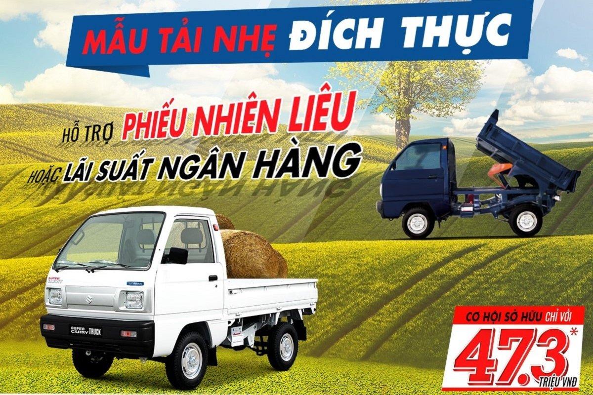 Suzuki mang đến cho khách hàng những mẫu xe tải hàng đầu 1