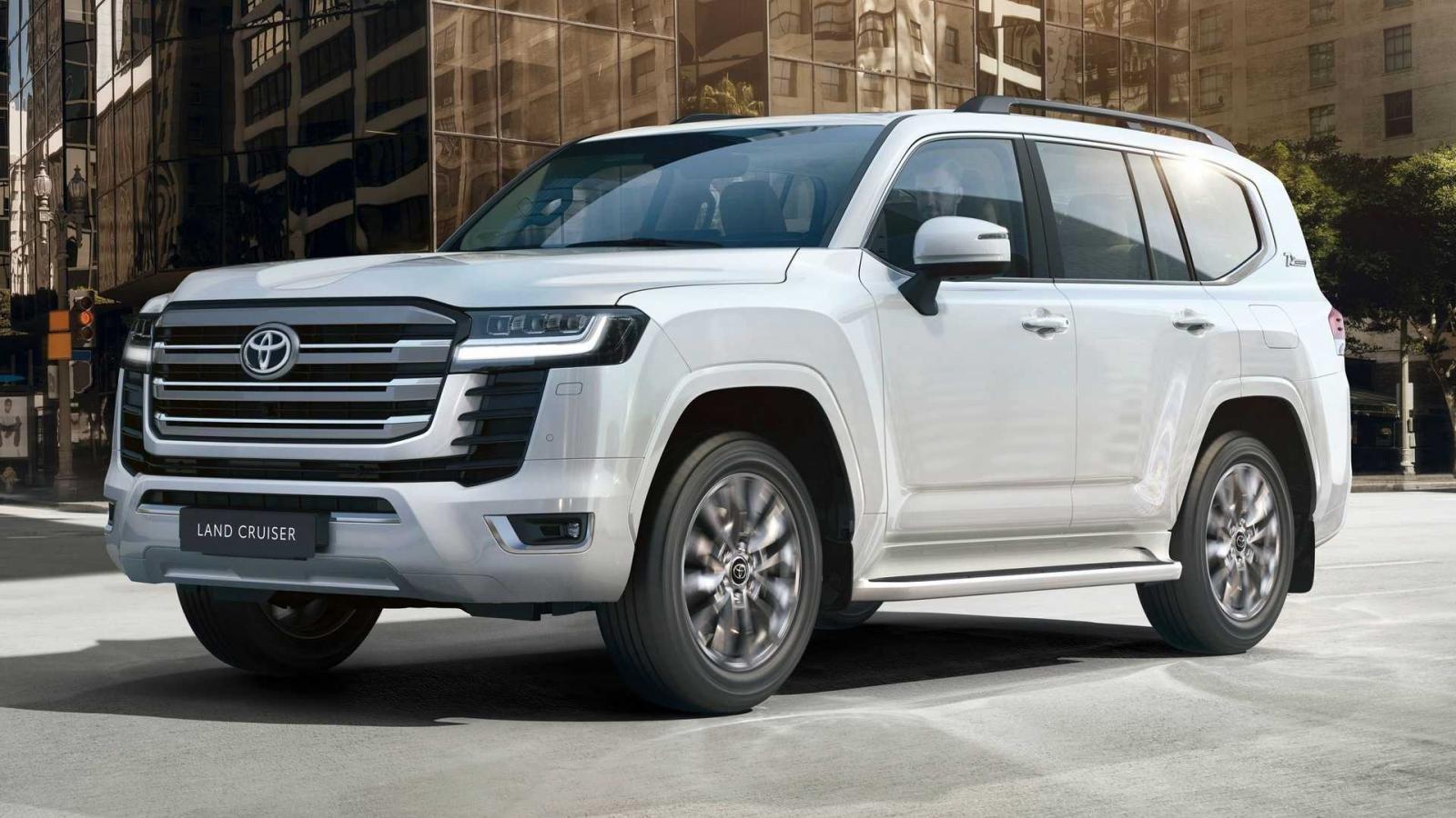 Toyota Land Cruiser 2022 tích hợp khung gầm mới.