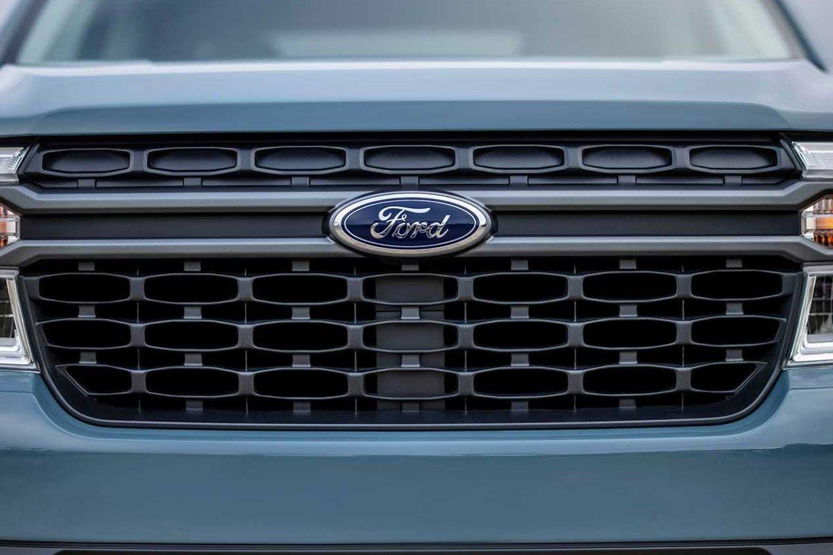 Ảnh Lưới tản nhiệt xe Ford Maverick 2022