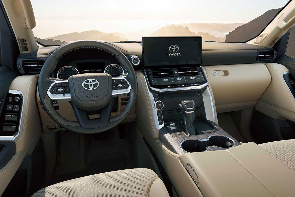 Ảnh Vô-lăng xe Toyota Land Cruiser 2022