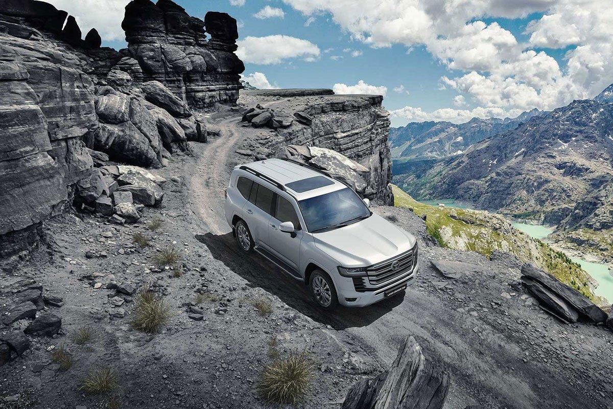 Ảnh giới thiệu xe Toyota Land Cruiser 2022