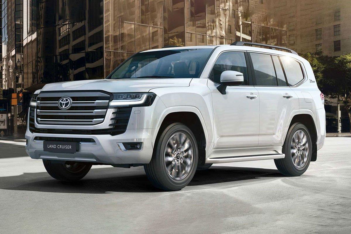Ảnh Đầu xe xe Toyota Land Cruiser 2022