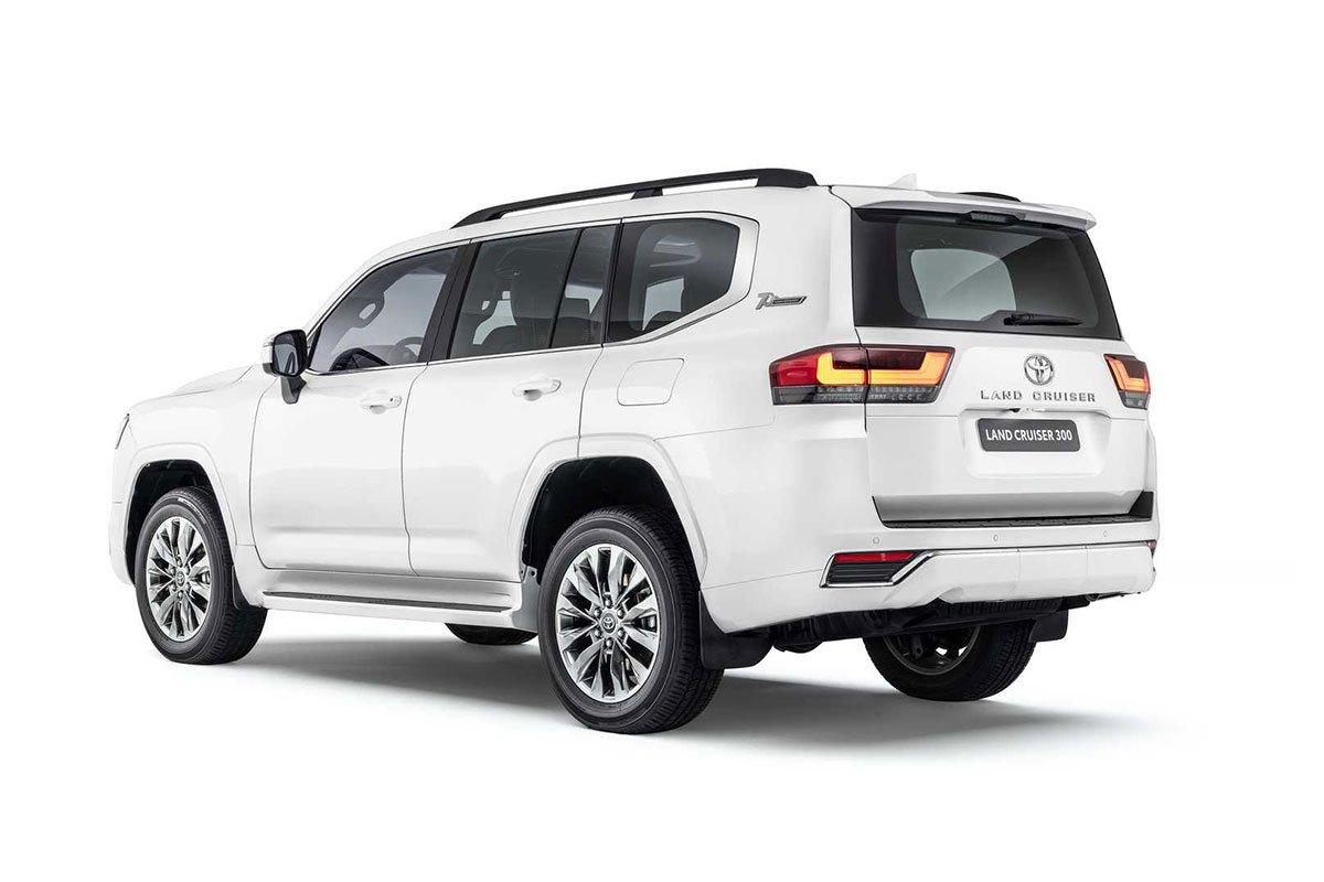 Ảnh Thân xe Toyota Land Cruiser 2022