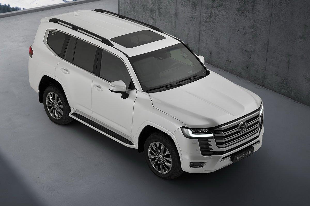 Toyota Land Cruiser 2022 ra mắt, thay đổi cách mạng, đại lý Việt Nam đã nhận cọc giao xe tháng 9 năm nay a6