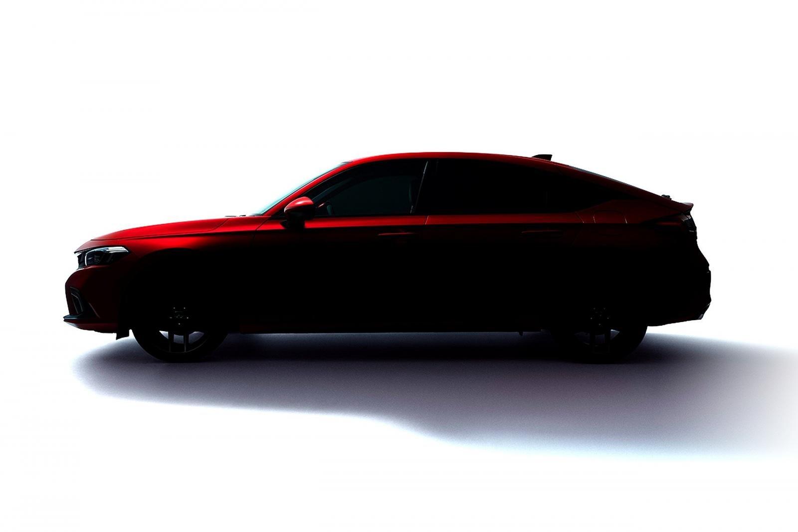 Honda Civic hatchback 2022 nhá hàng.
