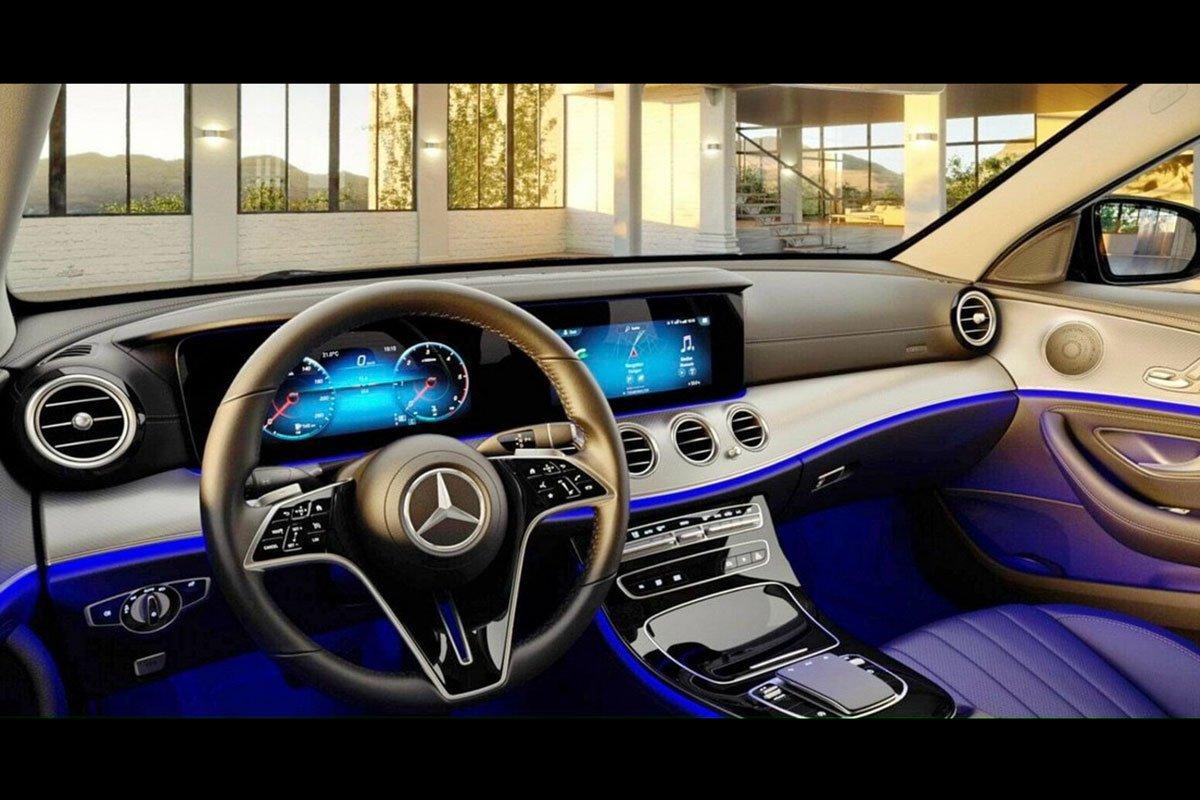 Nội thất Mercedes-Benz E180 2021.
