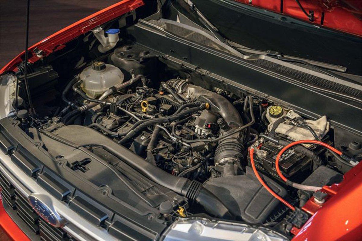 Ford Maverick có động cơ hybrid tiêu chuẩn và một tùy chọn động cơ khí đốt khác.