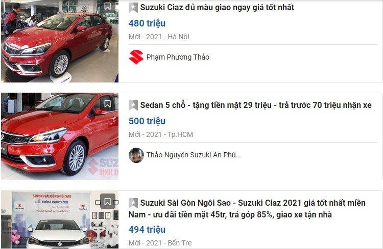 Một số đại lý rao bán mẫu xe này với mức ưu đãi lên tới 70 triệu đồng 1