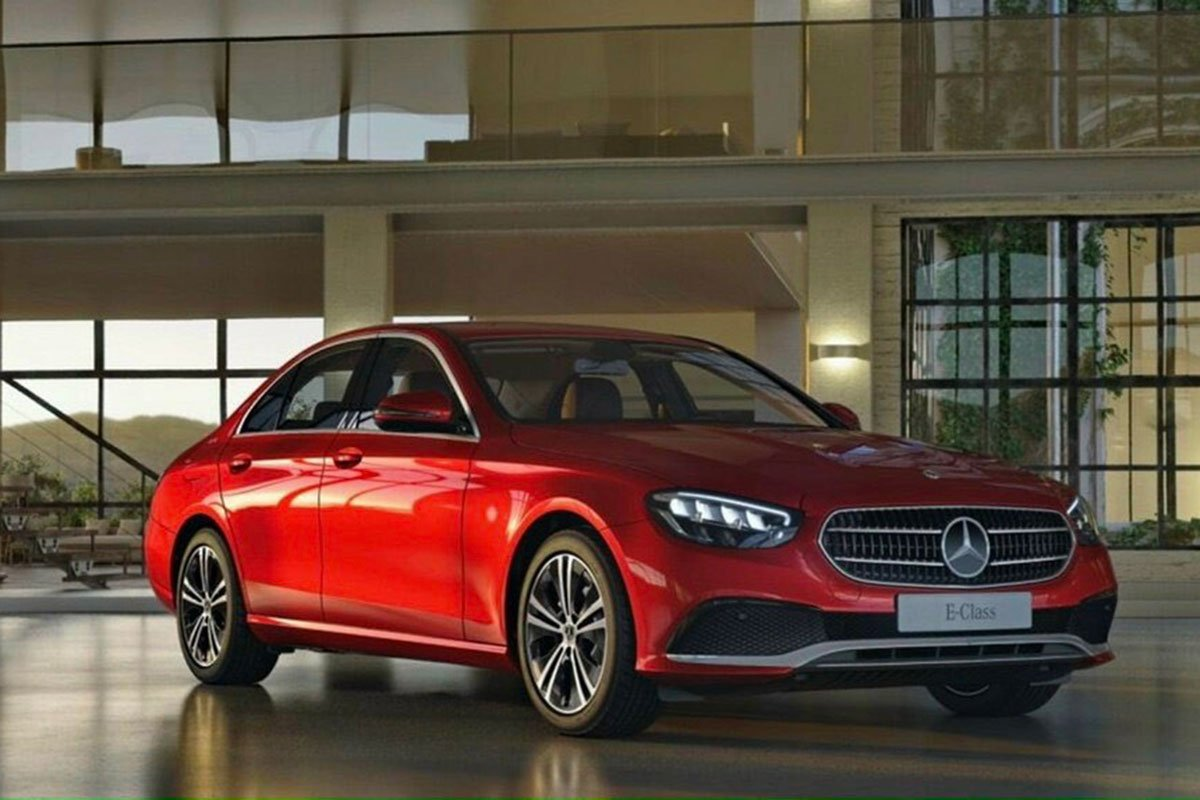 Mercedes-Benz E 180 2021 có 4 màu sơn ngoại thất.