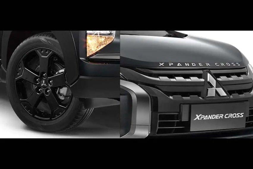 Mitsubishi Xpander Black Edition với trang trí đen hoàn toàn.