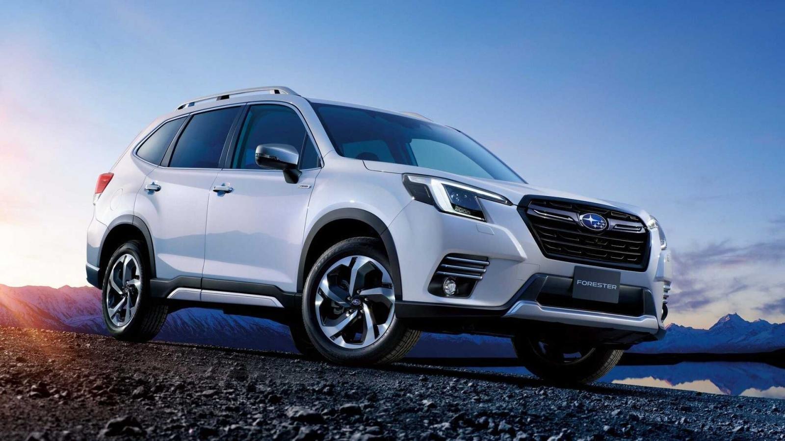 Subaru Forester 2022 facelift mới có gì hay.