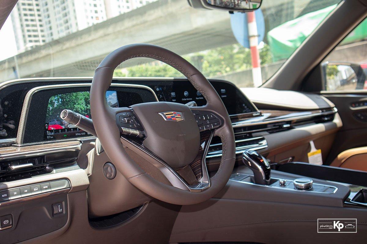 Soi Cadillac Escalade 2021 đầu tiên về Việt Nam Đầy cơ bắp, nhưng vẫn sang trọng a11