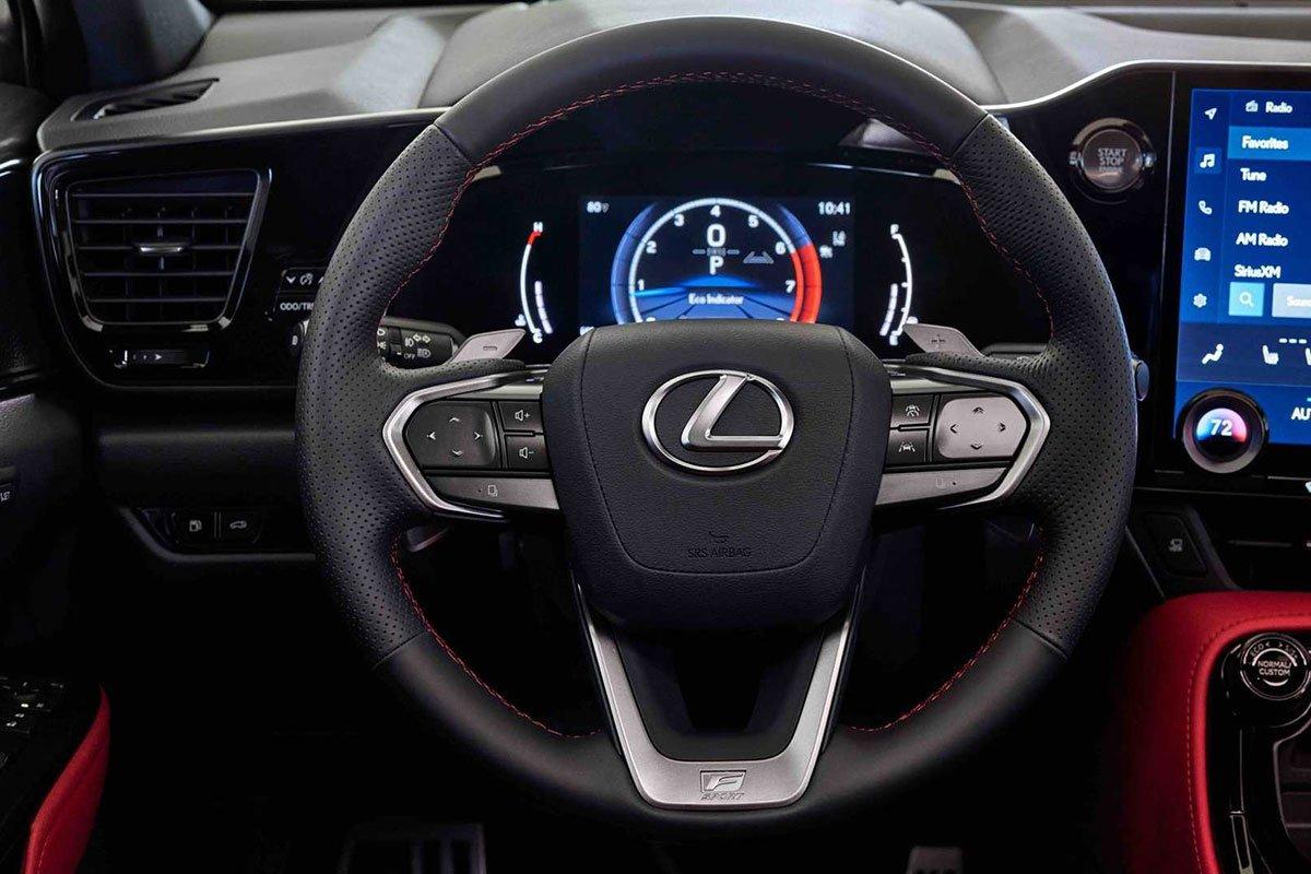 Ảnh Vô-lăng xe Lexus NX 2022
