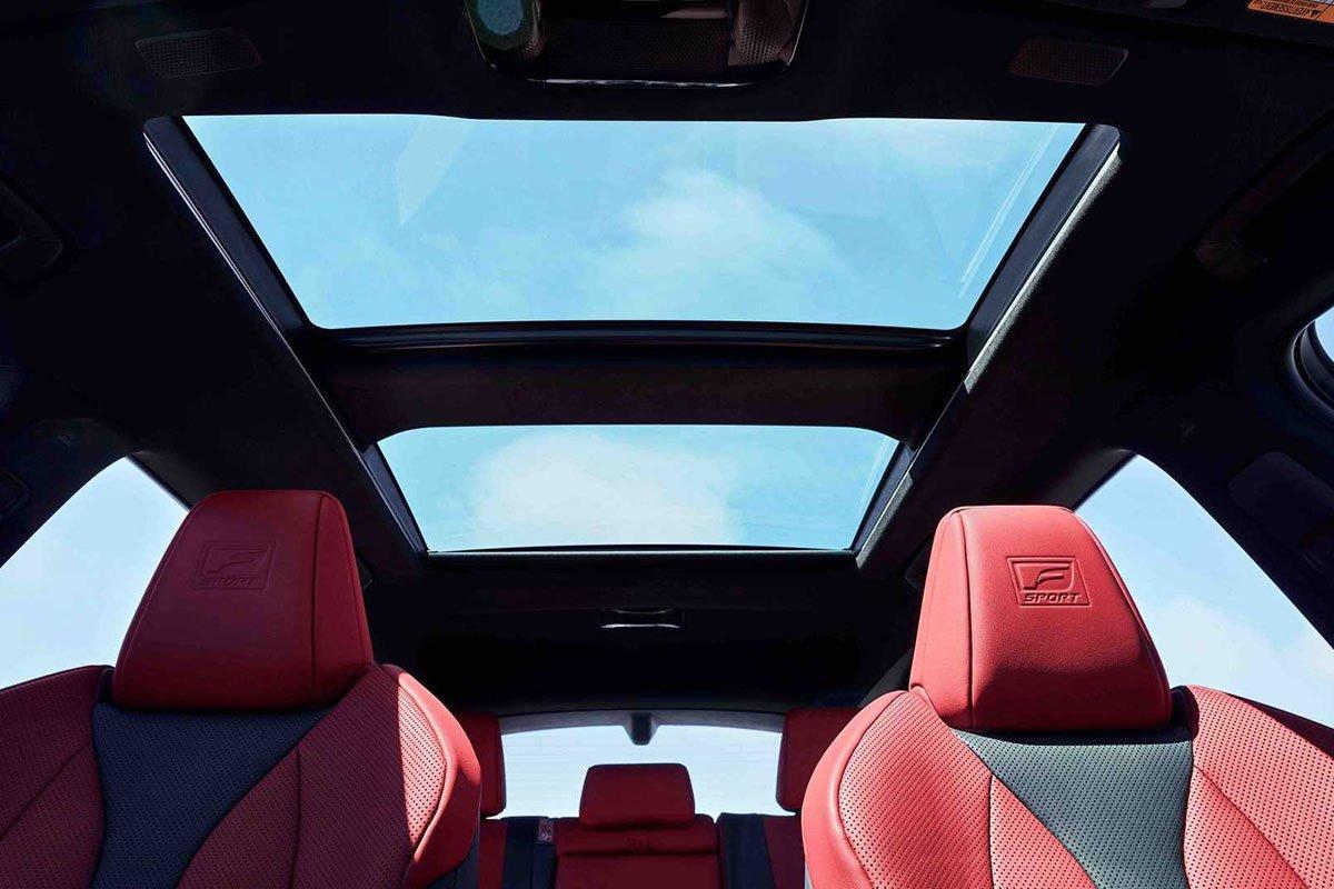 Ảnh Cửa sổ trời xe Lexus NX 2022