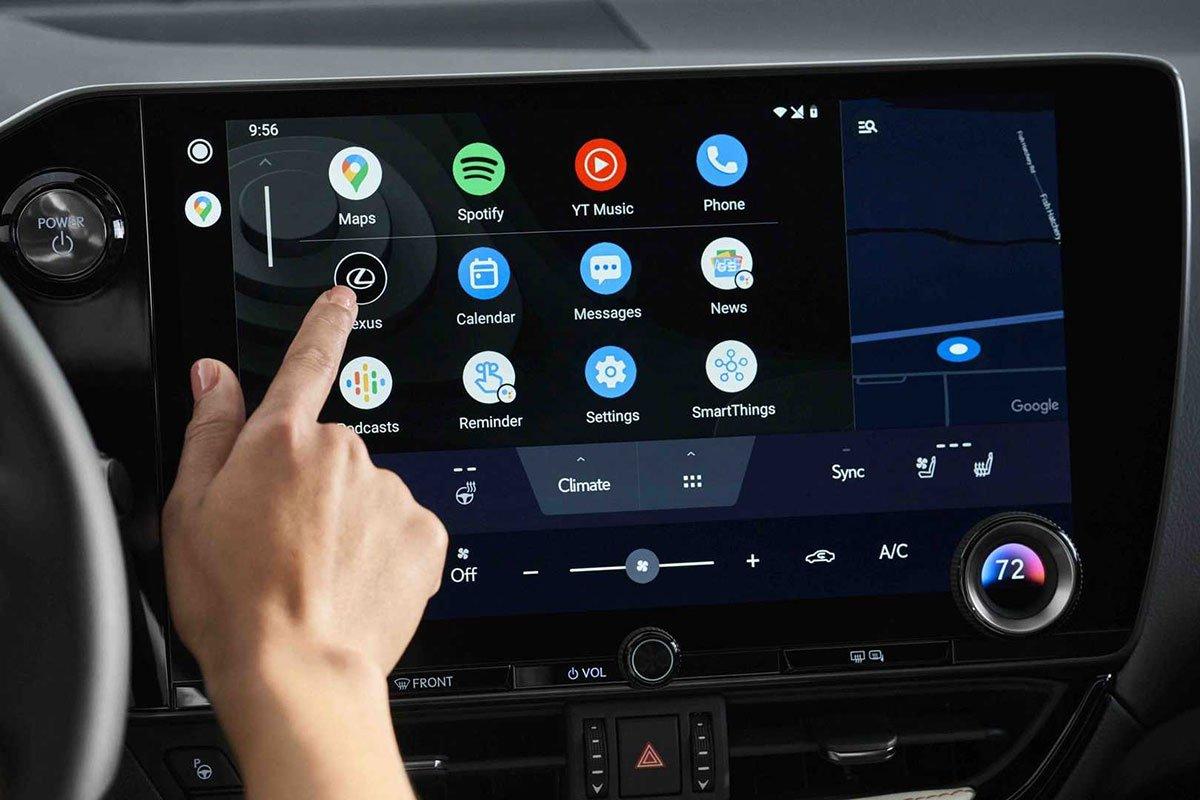 Ảnh Màn hình xe Lexus NX 2022