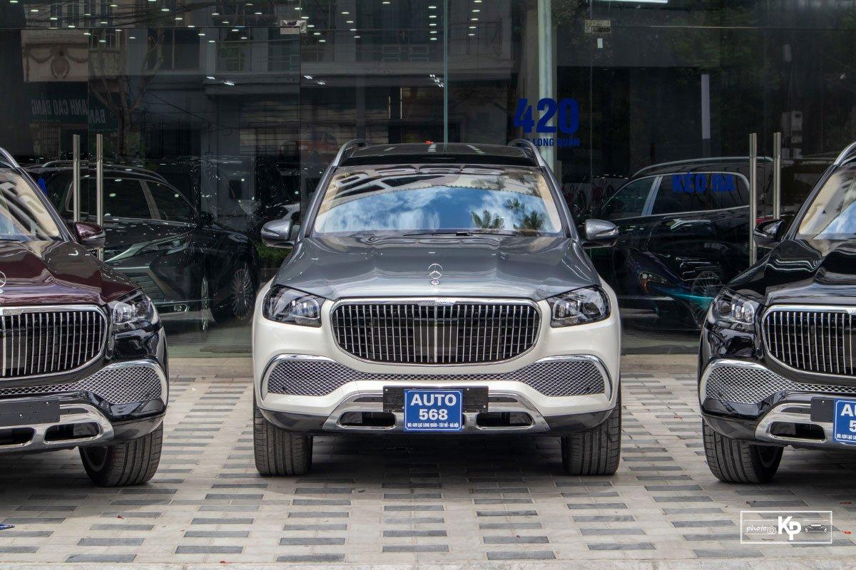"""Mercedes-Maybach GLS 600 2021 màu """"độc"""" về Việt Nam: Vẫn xứng danh SUV siêu sang dành cho ông chủ a1"""