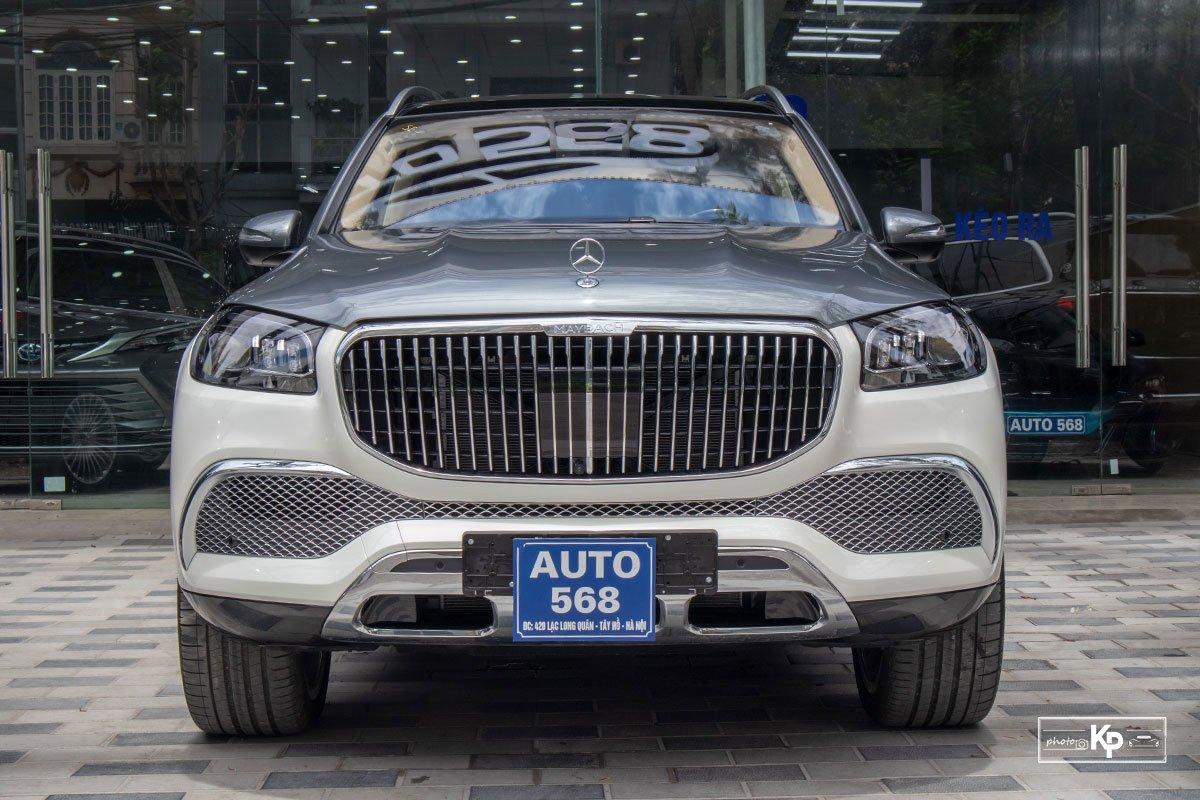 """Mercedes-Maybach GLS 600 2021 màu """"độc"""" về Việt Nam: Vẫn xứng danh SUV siêu sang dành cho ông chủ a4"""