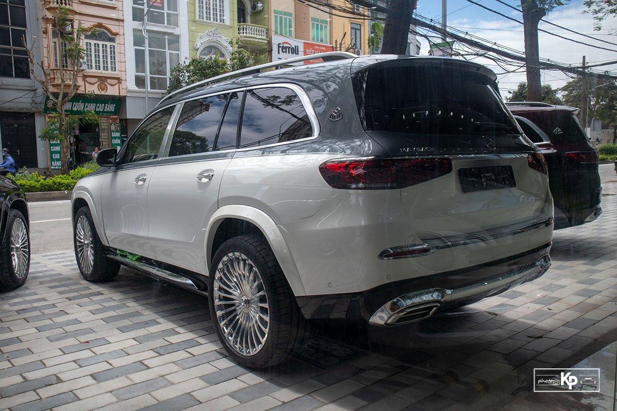 """Mercedes-Maybach GLS 600 2021 màu """"độc"""" về Việt Nam: Vẫn xứng danh SUV siêu sang dành cho ông chủ a2"""
