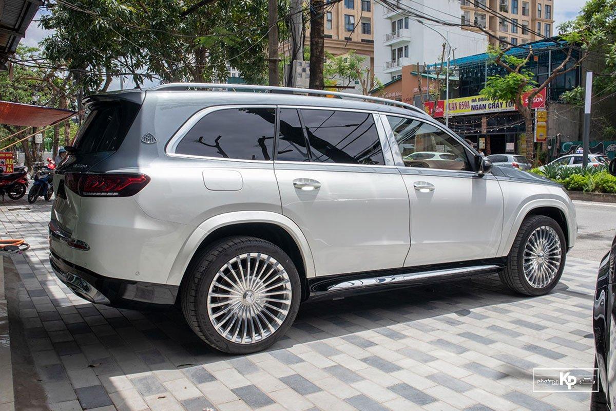 """Mercedes-Maybach GLS 600 2021 màu """"độc"""" về Việt Nam: Vẫn xứng danh SUV siêu sang dành cho ông chủ a7"""