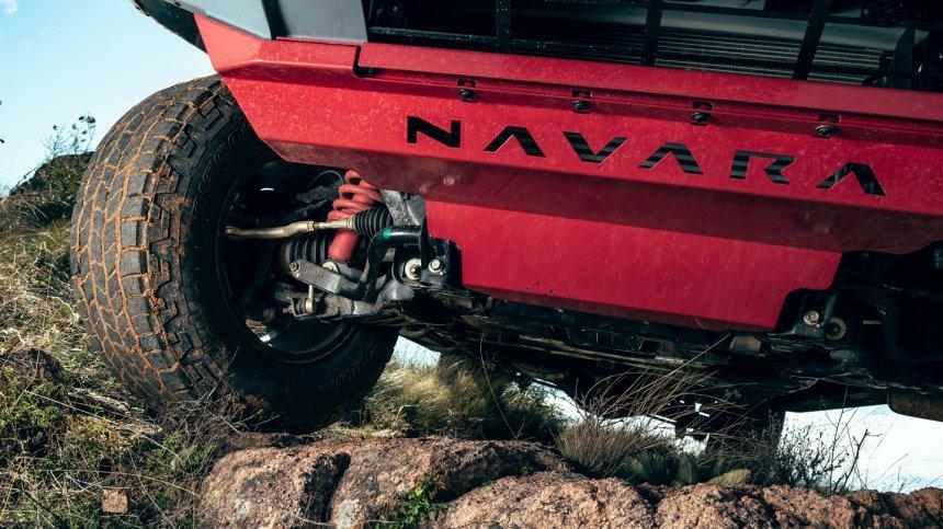 Nissan Navara Pro-4X Warrior cứng cáp vượt bậc.