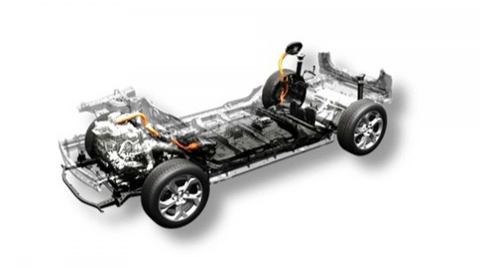 Kết cấu các mẫu xe điện Mazda trang bị hệ thống động cơ phụ mở rộng phạm vi hoạt động.