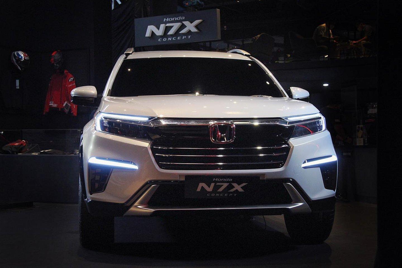 Honda BR-V 2022 thực chất là mẫu Honda N7X bản sản xuất.
