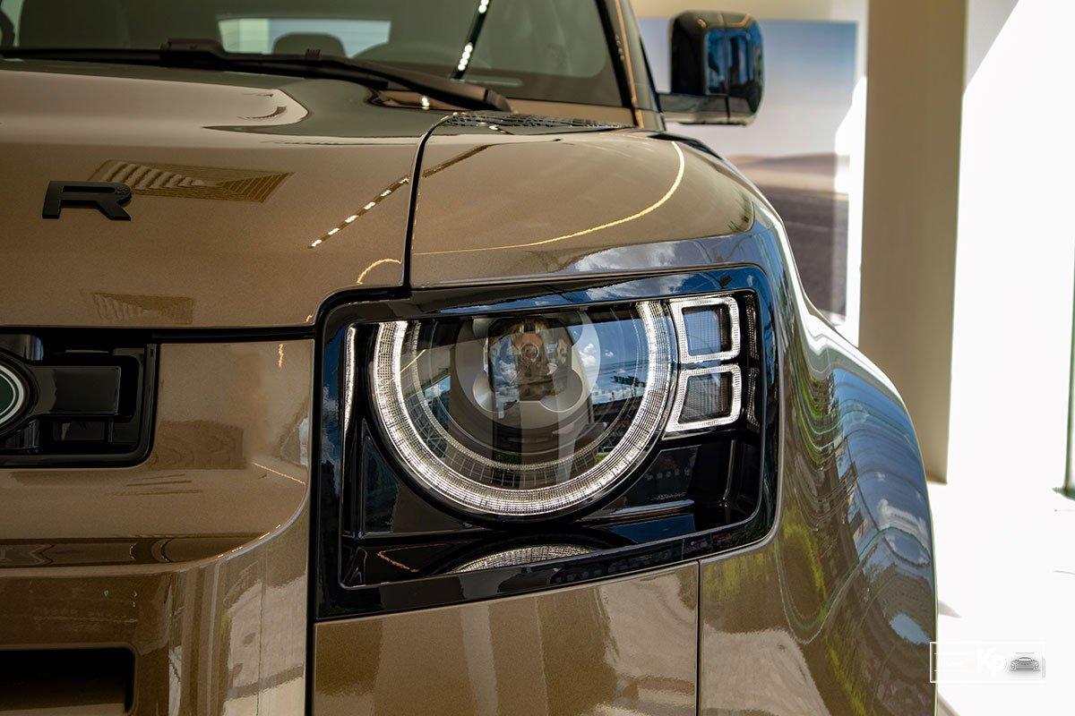 Ảnh Đèn pha xe Land Rover Defender 90 2021
