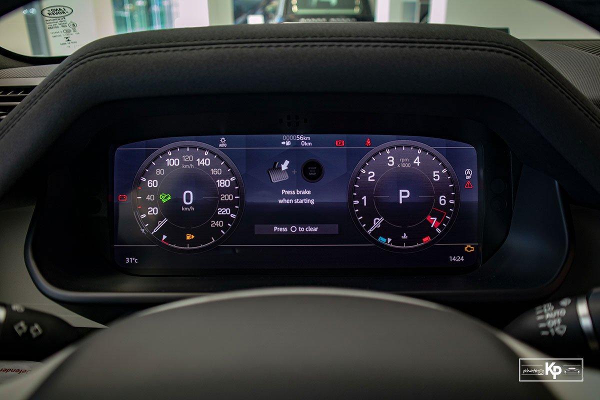 Ảnh Màn hình xe Land Rover Defender 90 2021
