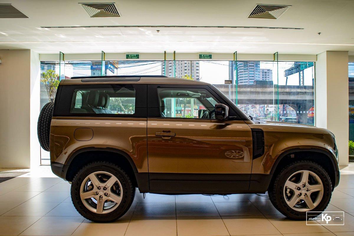 Ảnh Thân xe Land Rover Defender 90 2021