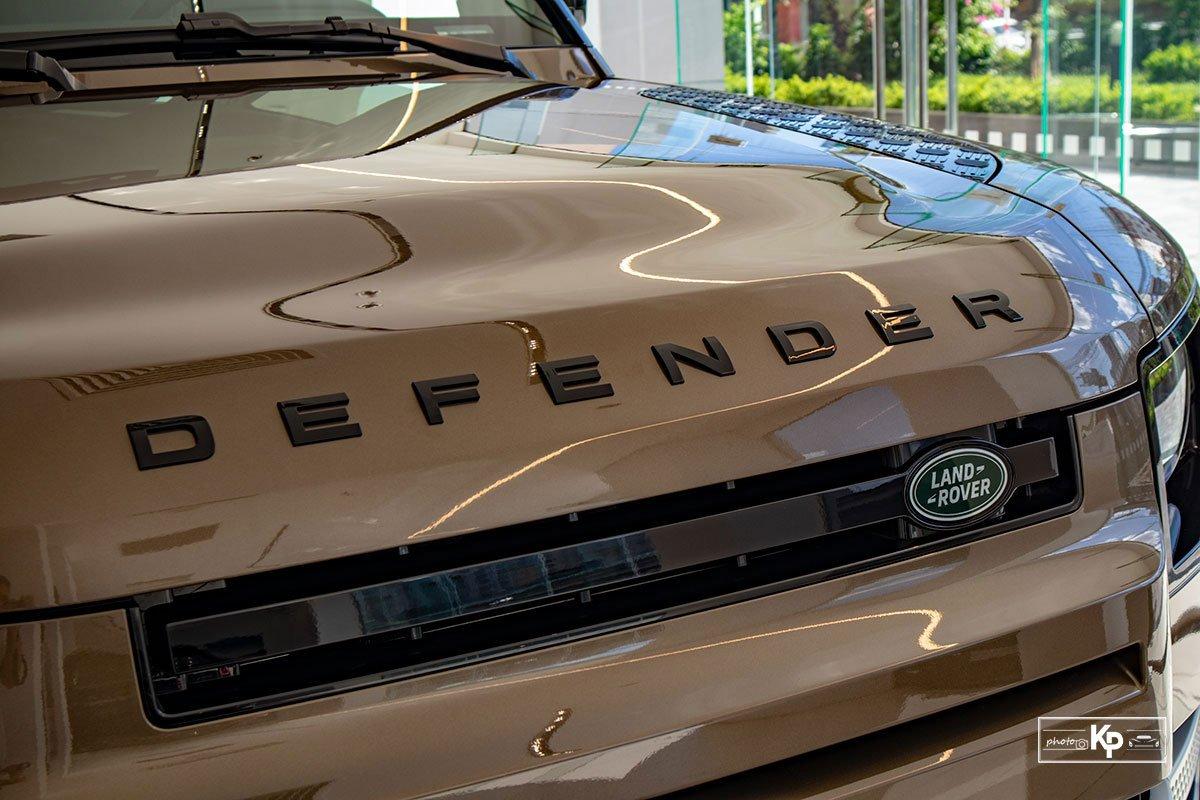 Ảnh Lưới tản nhiệt xe Land Rover Defender 90 2021