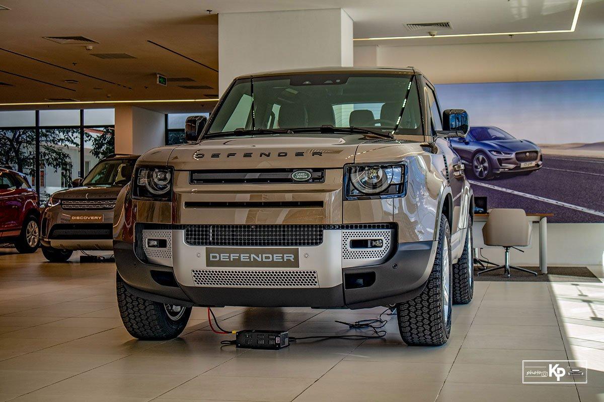 Ảnh giới thiệu xe Land Rover Defender 90 2021