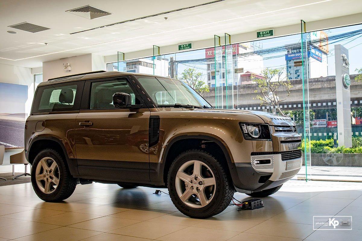 Ảnh tổng quát xe Land Rover Defender 90 2021  a1