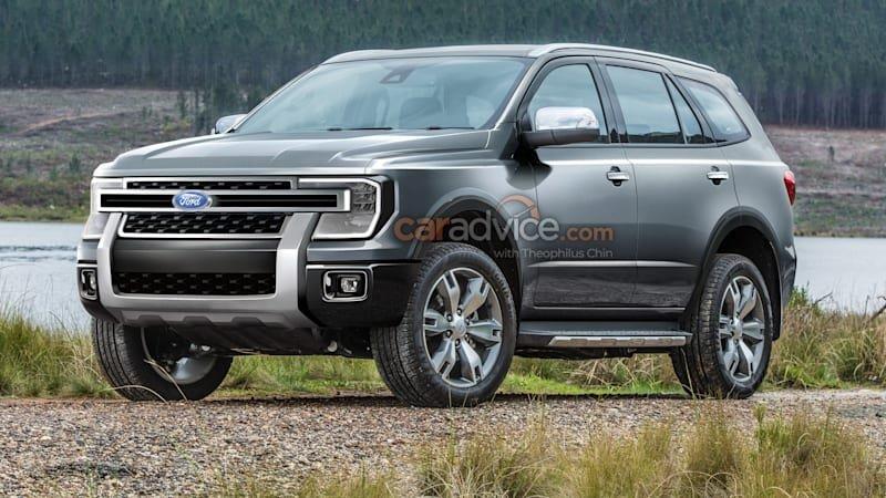 Ford Everest 2022 thế hệ mới bổ sung thêm động cơ dầu V6.