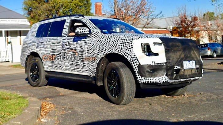 Ford Everest 2022 thế hệ mới lấy cảm hứng từ Ford F-Series.