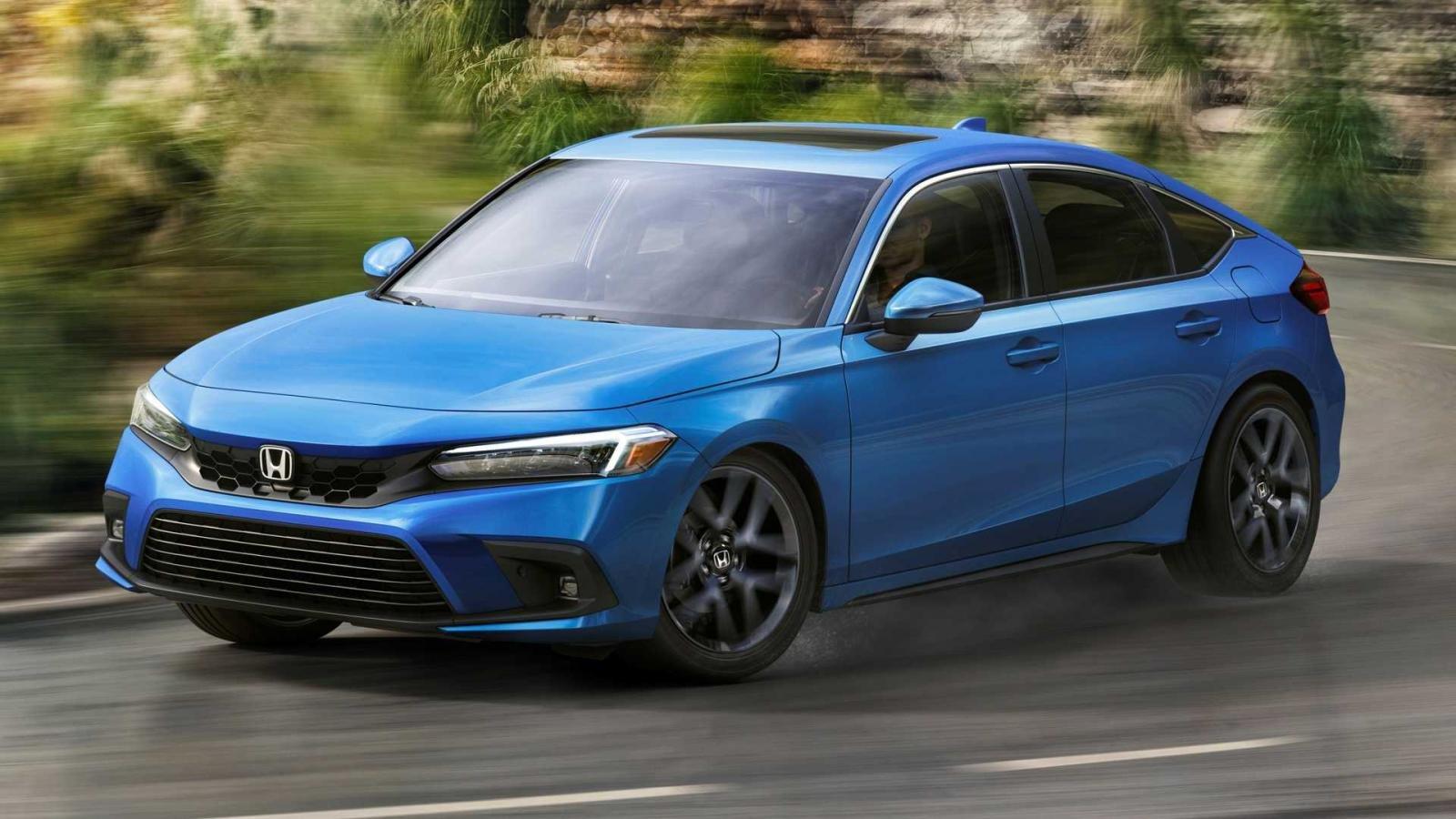Honda Civic 2022 Hatchback tươi mới và hiện đại hơn.