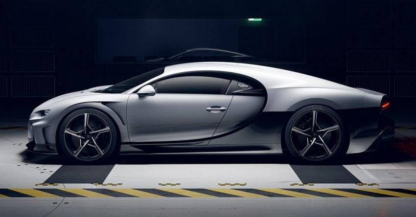 Bugatti Chiron Super Sport thừa hưởng ngôn ngữ thiết kế từ chiếc Sport 300+