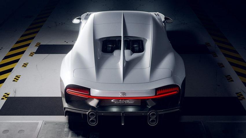 Bugatti Chiron Super Sport mới nhanh nhạy và mạnh mẽ hơn nữa.